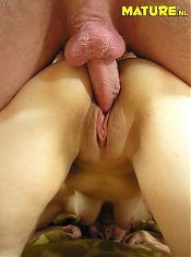 This mature slut loves a big hard cock