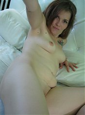 Horny mature ex girlfriend Lacia goes for solo pleasure and licks her own nipples in this scene